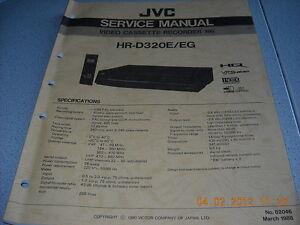 JVC-HR-D320E-EG-VHS-Video-Cassette-Recorder-Service-Manual