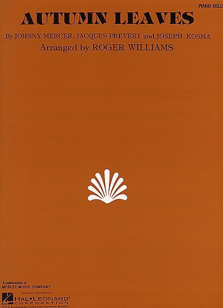 Autumn Leaves Song by Roger Williams Piano Solo Advanced Jazz Sheet Music