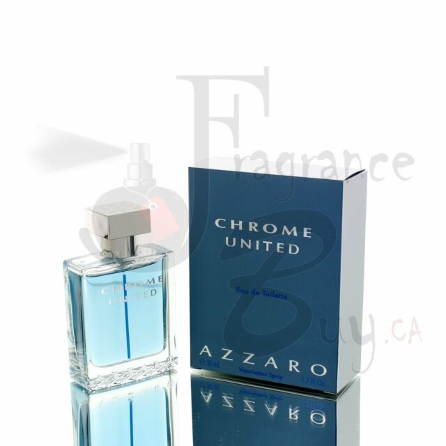 Azzaro Chrome UNITED M 100ml Boxed