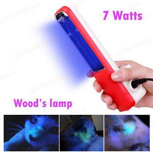 Wood UV Black Light Skin Care Ringworm Vitiligo Detection Plug Type Wood's Lamp