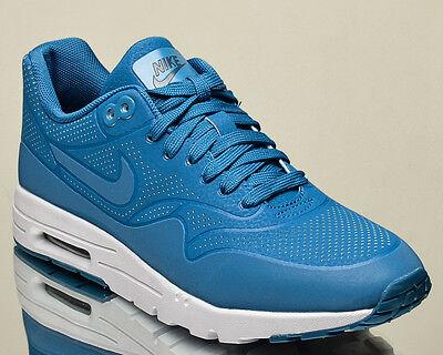 Nike Damen Air Max 1 Ultra Moiré effekt Lifestyle Sneakers Brigade Blau | eBay