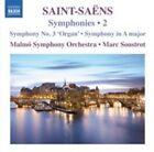 Saint-saens Symphonies Vol. 2 Malmo Symphony Orchestra Marc Soustrot Naxos