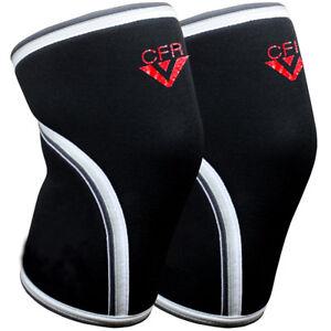 2x-7mm-Knee-Sleeves-Crossfit-Weight-Lifting-Patella-Support-Leg-Brace-Arthritis