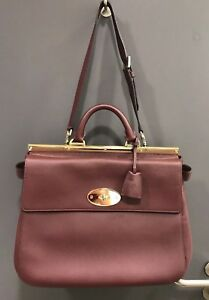 Mulberry Bag a large Suffolk in oxblood colour in new without tags ... 3bb634747c96d