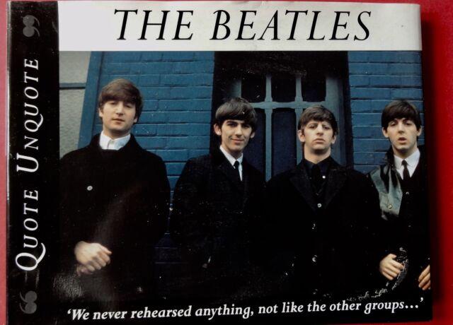 "The Beatles ""Quote Unquote""-Arthur Davis Brand new"