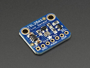 Adafruit TSL2561 Digital Luminosity/Lux/Light Sensor Breakout Arduino I2C 5v 3v