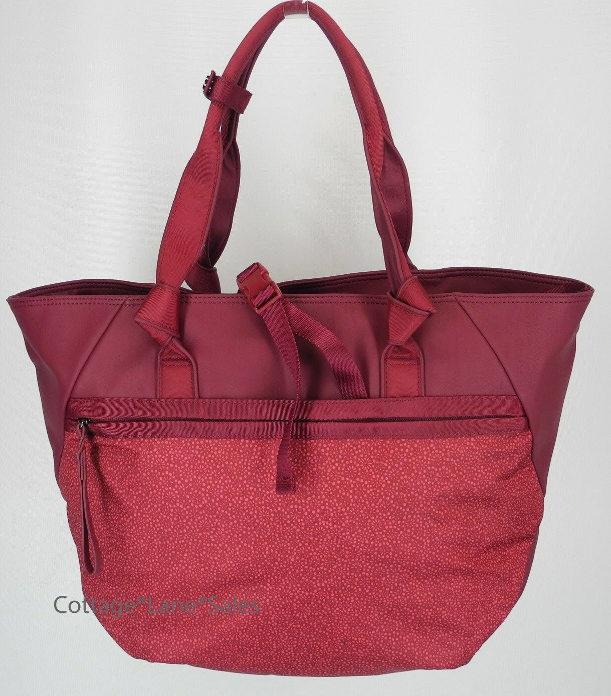 89e8047ea7 Lululemon Everything Bag Rosewood/freckle Flower Fireside Red Rosewood for  sale online | eBay
