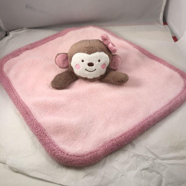 Babies R Us Pink Monkey Security Blanket 12 X Koala Baby Lovey