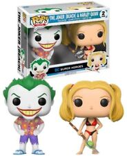 Pack Exclusivo The Joker// Pack 2 funko pop The Joker Beach /& Harley Quinn