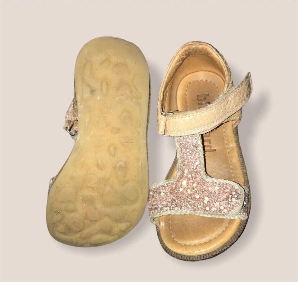 Sandaler, str. 24, Bisgaard sandaler 24 sko beige rosa