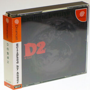 D-no-Shokutaku-2-SEGA-Dreamcast-Japan-Import-WARP-DC-NTSC-J-Japanese-Complete
