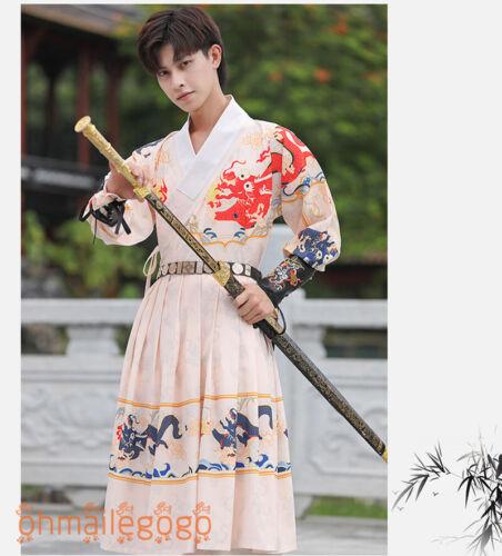 Hantangyoumeng HANFU femme homme Robe sous la puissance Cosplay ancienne Costume