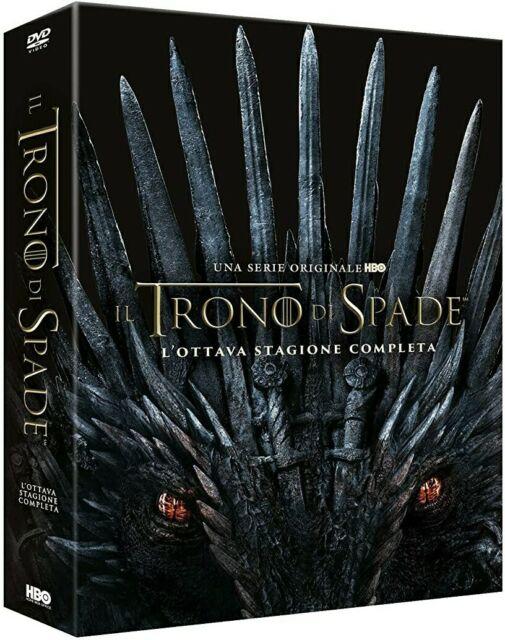 IL TRONO DI SPADE - STAGIONE 8 FINALE ( DVD) ED. ITALIANA NUOVO