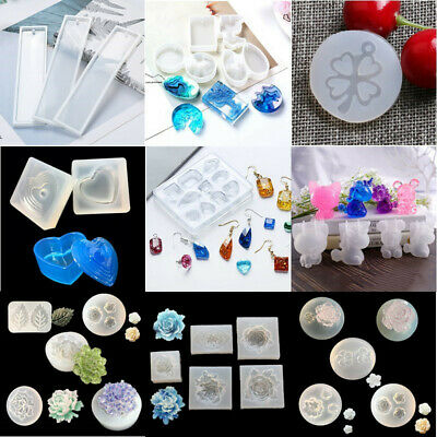 Silicone Ring Mold Resistant For Making Resin Epoxy Jewelry Making Tools Cx #eva