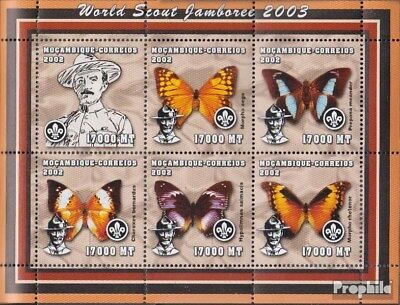 Trustful Mozambique 2458-2463 Sheetlet Unmounted Mint Never Hinged 2002 World Jamboree Curing Cough And Facilitating Expectoration And Relieving Hoarseness Mozambique