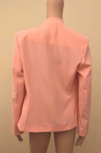 Step amp;s M Front Open Light New Orange Jacket 10 Uk Collection PZTqcHa