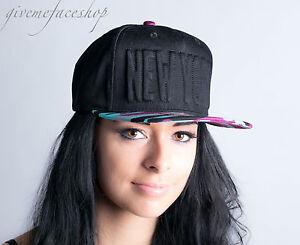 NY-GORRA-snapback-Baile-Callejero-hip-hop-beisbol-Diseno-Visera-Plana-Bling