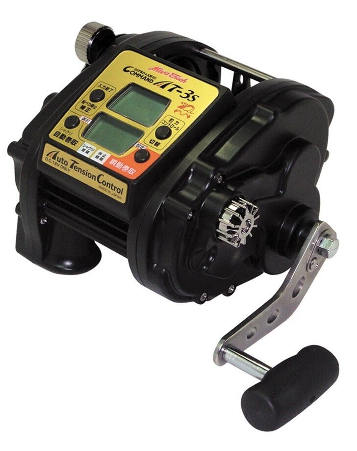 Sale Miya Epoch Command AT-3S DC-12V Big Game Electric Reel With English manual