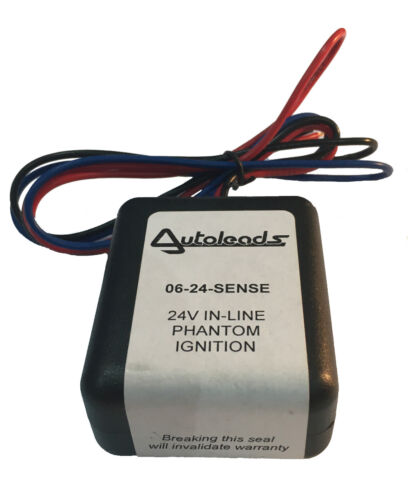 AUTOLEADS 24v 06-Sense Latching Ignition Relay
