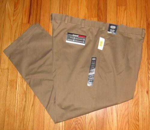 Roundtree Mens Medium Brown P/&C Travel Pants 36,38,42,44,46,48,50,52,54 NWT