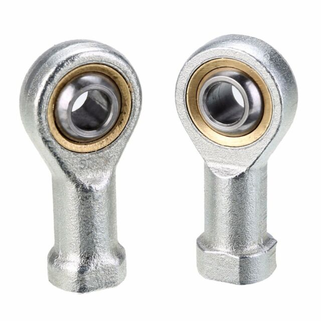 2 Pcs 8mm Internal Female Metric Thread Rod End Ball Joint Bearing SI8T/K PHSA8