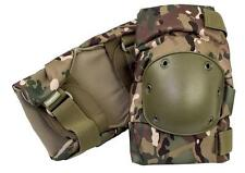 Pro-Force HMTC Hard shell Knee Pads - Multcam Camo Military Airsoft