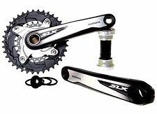 Shimano SLX M677 Double (36/22T) 175mm black/silver Crankset New