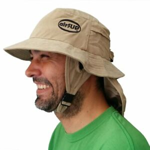 Beach Hat for Stand Up Paddle Surf / SUP & Sun Protection with Wide Brim airSUP