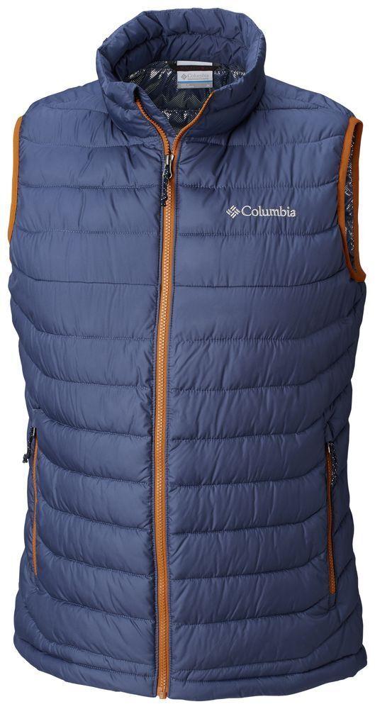COLUMBIA Powder Lite WO0847478 Insulated Warm Winter Down Vest Mens All Dimensione New