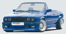 Rieger Frontspoilerlippe incl. Spoilerschwert gekantet für BMW 3er E30