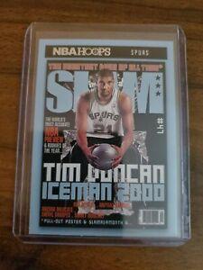 2020-21 Panini NBA Hoops Tim Duncan SLAM Iceman 2000 Spurs!!!