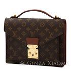 Louis Vuitton Monceau 28 Handbag Shoulder Bag M51185 Monogram