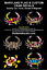 MARYLAND-FLAG-DECAL-STICKER-Crab-Fish-Horse-Puppy-Dog-Paw-Cat-Deer-Flower-Turtle thumbnail 5