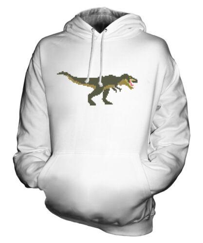 Idea Maglia 16 T Dinosauro Unisex Regalo Rétro Felpa Bit rex wx4pY4Of
