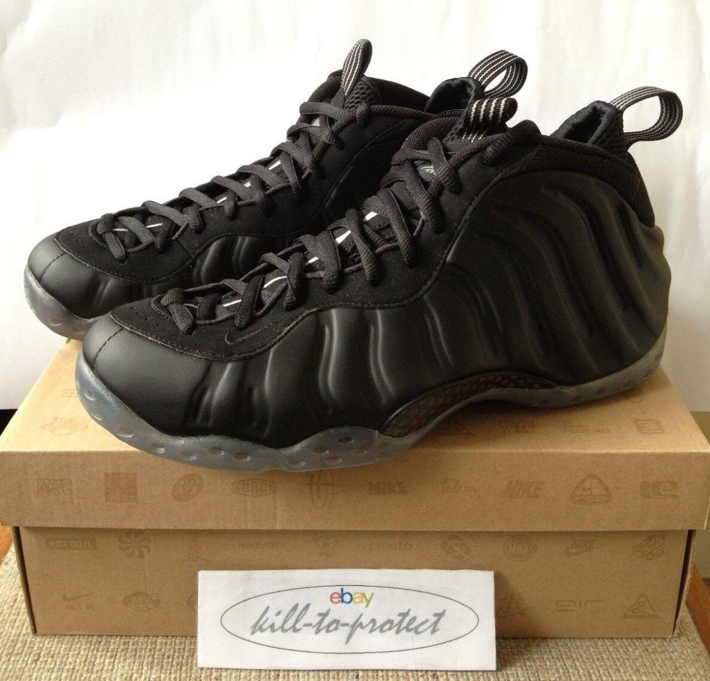 Nike air foamposite 2012 stealth nero sz suprema 314966-010 2012 foamposite d91a30