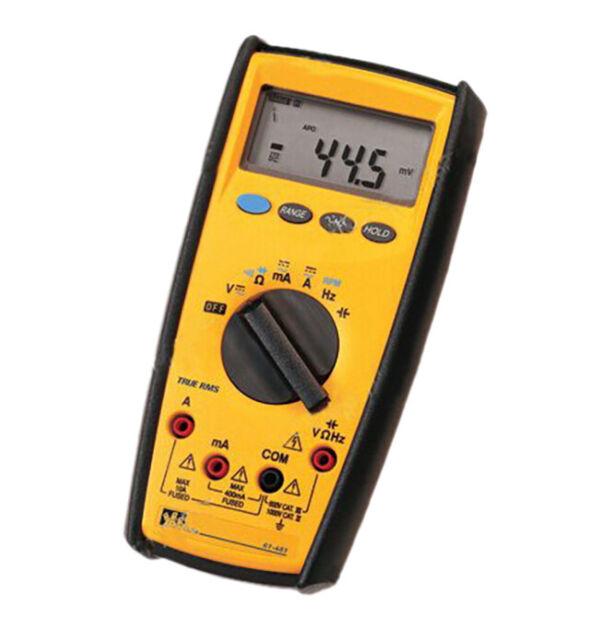 Ideal 61-481 True RMS Digital Multimeter Meter 600v III & 1000v Cat IV Tool