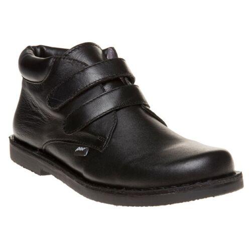 New Infants pod Black Kieran Leather Boots Chukka
