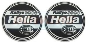 PAIR-OF-GENUINE-HELLA-RALLYE-3000-PROTECTIVE-SPOT-FOG-DRIVING-LAMP-LIGHT-COVERS