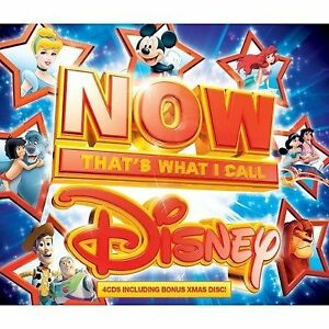Various Artists - Now That's What I Call Disney (2013) 4CD ALBUM DIGIPACK
