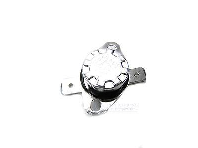5pcs KSD301 40°C 10A 250V Thermostat Temperature Switch Bimetal Disc New