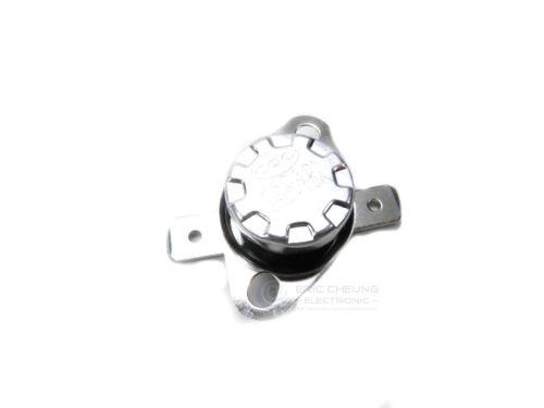 4pcs KSD301 NO 95°C 10A 250V Thermostat Temperature Switch Bimetal Disc New