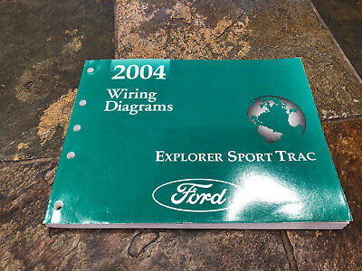 2004 ford explorer sport trac wiring diagrams electrical service manual   ebay