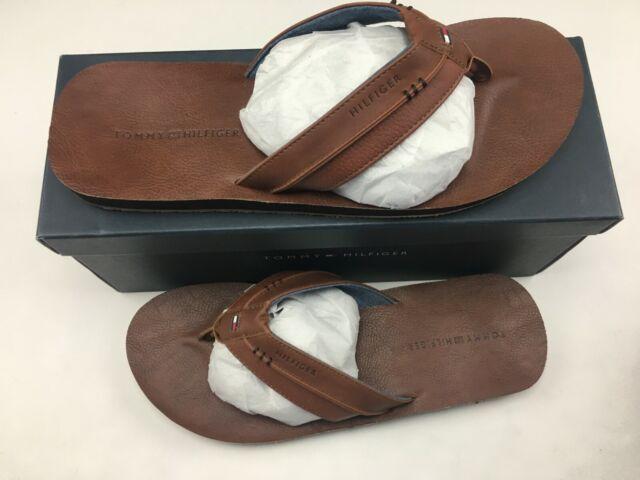 Shop Tommy Hilfiger Mens Davidson Flip Flops Thongs Shoes