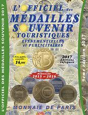 OFFICIEL DES MÉDAILLES SOUVENIR JETON MONNAIE DE PARIS COTATIONS 2015/16/17 COIN