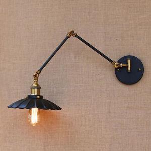 adjustable lighting fixtures. Image Is Loading Black-Metal-Wall-Lamp-Lights-Sconce-Adjustable-Long- Adjustable Lighting Fixtures E