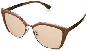 39c26ffdd991 Brand New Prada PR56TS VHQ4M2 Apricot Gold Brown Gradient Cat Eye ...