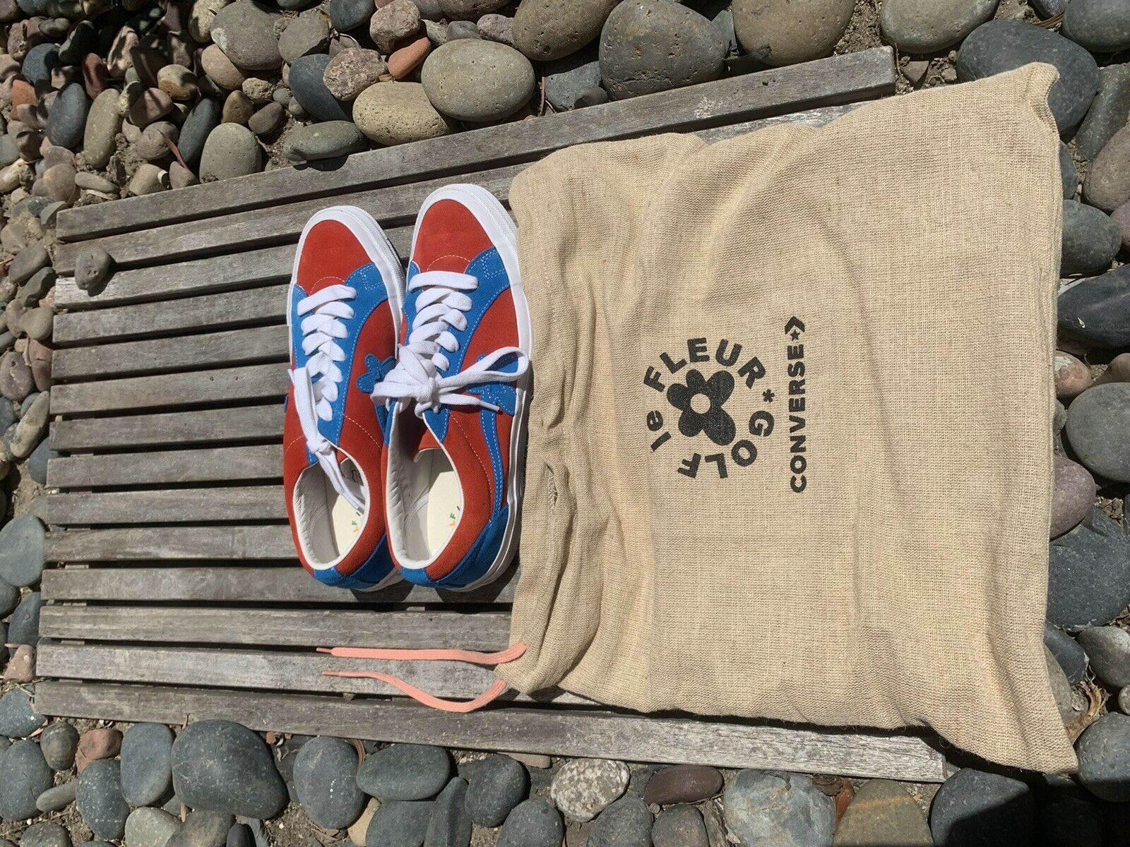 Converse Golf Le Fleur Sherpa Shorts Cream Blue Tyler The Creator Rare Size L For Sale Online Ebay