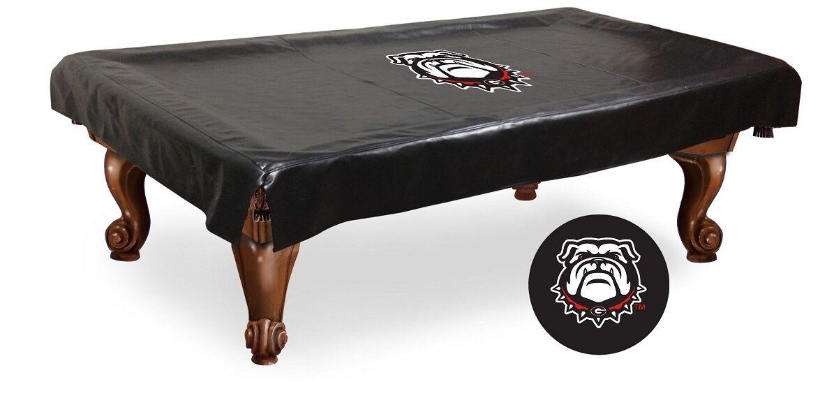 University of Georgia Pool Table Cover w  Bulldogs Logo