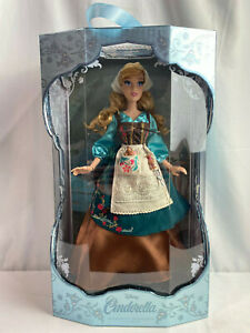 Disney-Limited-Edition-70th-Anniversary-17-034-Peasant-Dress-Cinderella-Doll-NEW