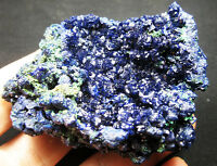 123g AAA gorgeous Azurite/Malachite crystal minerals specimens!